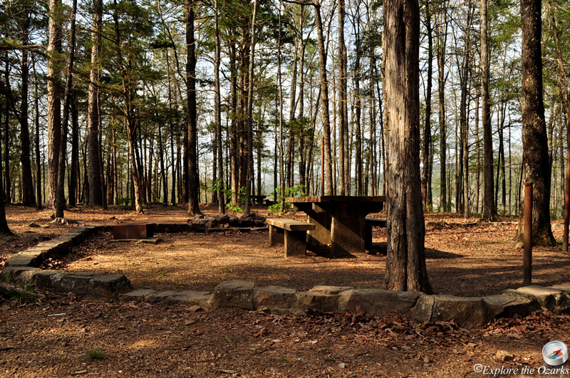 Brock creek lake recreation area of arkansas explore the for Ozark national forest cabins