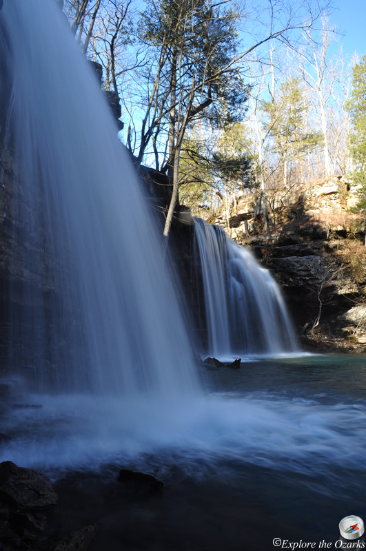 Twin Falls Of Richland Creek Richland Creek Wilderness