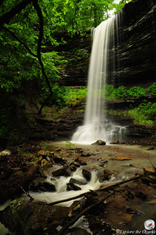 Murray Falls - Ozark National Forest | Explore the Ozarks