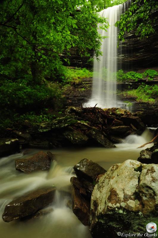 Murray Falls - Ozark National Forest