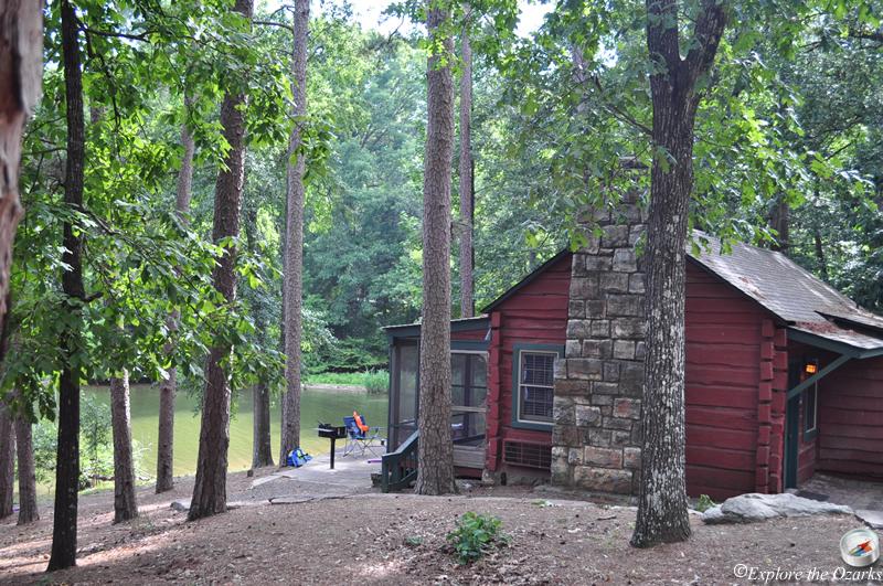 Arkansas state parks cabins for Cabin builders in arkansas