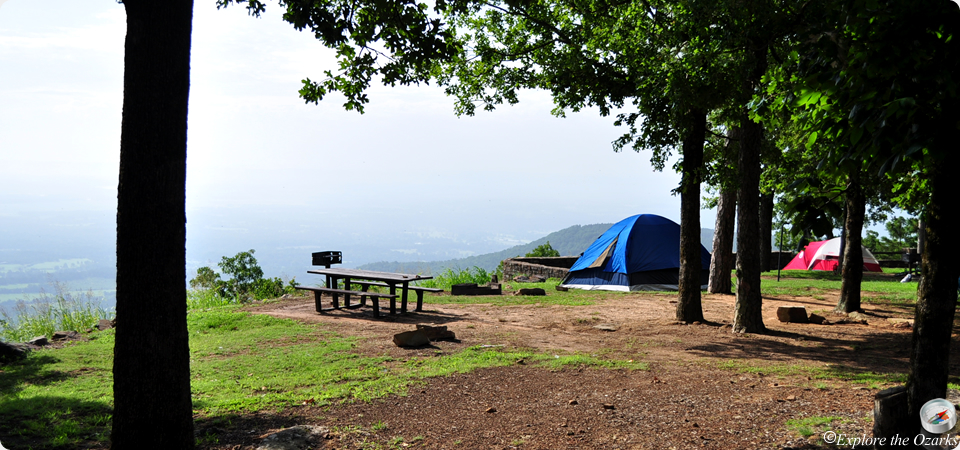Mount Nebo State Park Camping Explore The Ozarks