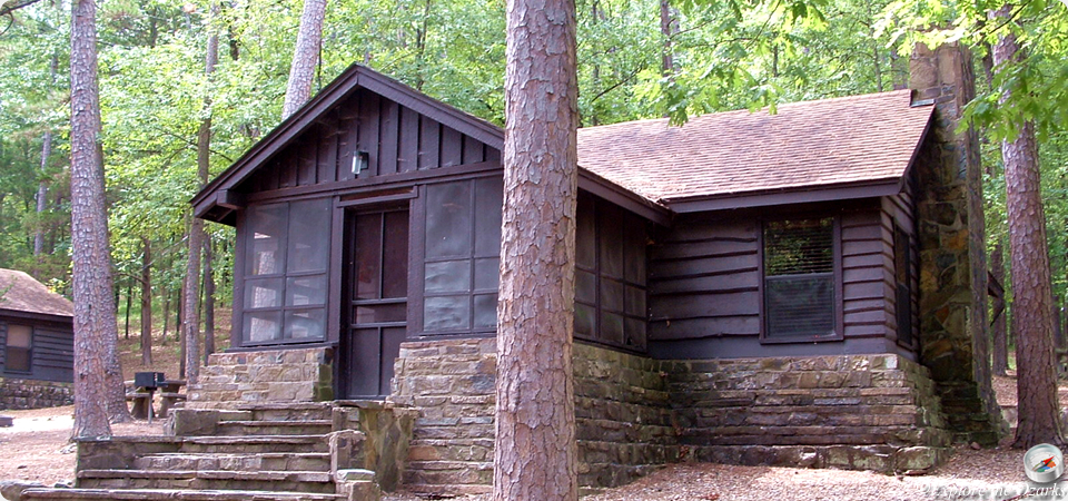 Beavers bend hochatown state park restaurant lodge for Camping cabins in oklahoma