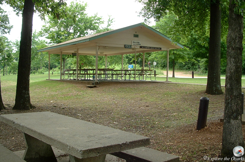 Bernice Area At Grand Lake State Park Of Oklahoma
