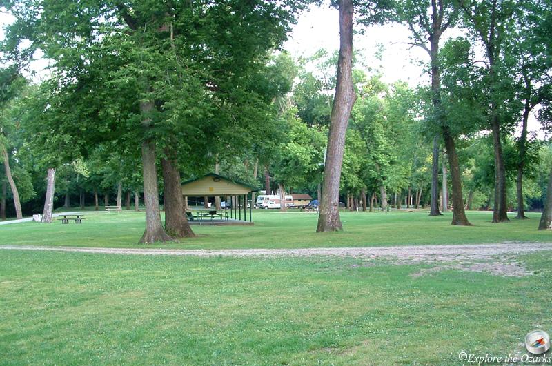Cherokee Area At Grand Lake State Park Of Oklahoma