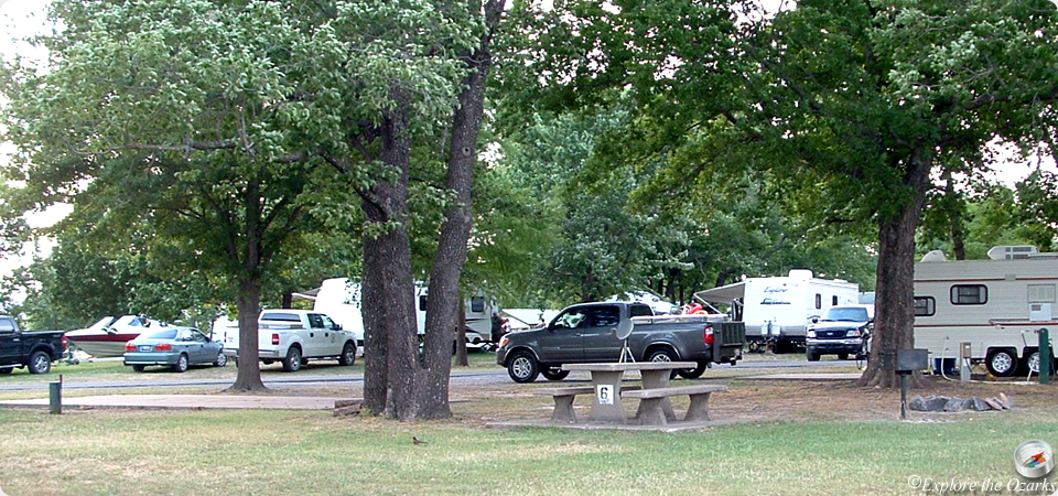 Cherokee landing state park camping explore the ozarks for Camping cabins in oklahoma
