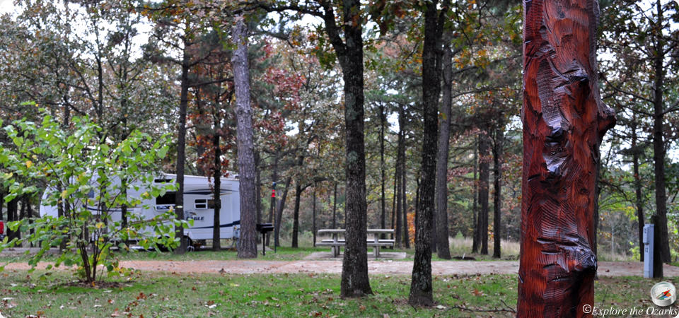 Natural falls state park cabins for Camping cabins in oklahoma