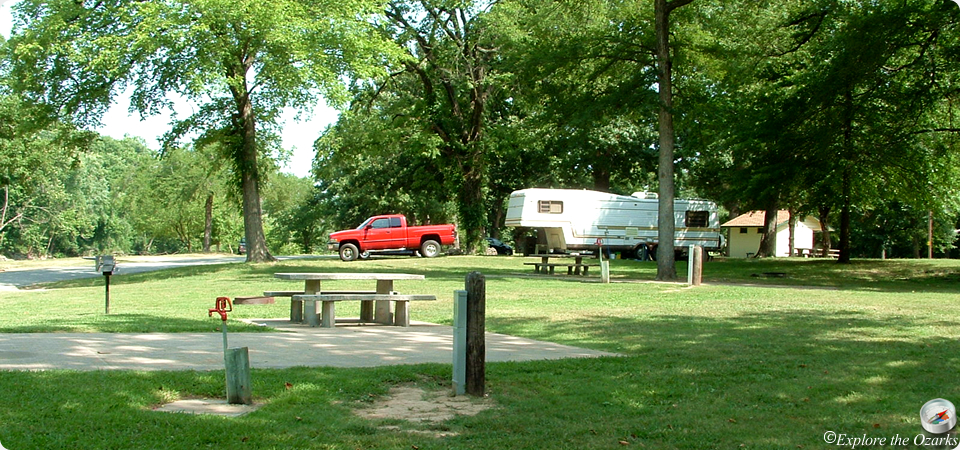 Spavinaw State Park Camping
